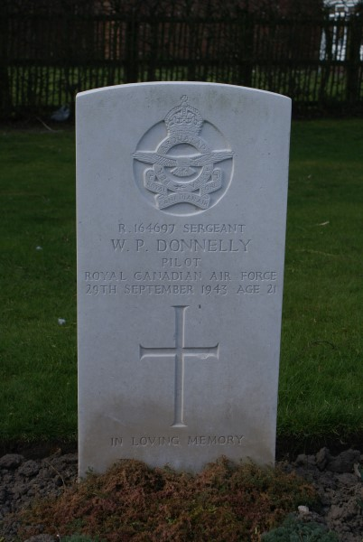 Grave of Sergeant William Paul Donneley at Chester (Blacon) Cemetery