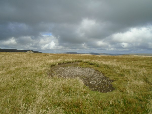 Crash site of Miles Master W8479, Arant Haw Fell, Sedburgh, Cumbria