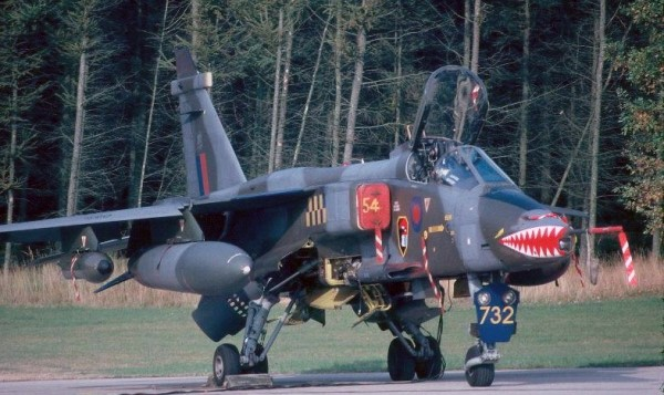 Sepecat Jaguar XX732, No.54 Squadron, Husum, Germany, October 1979