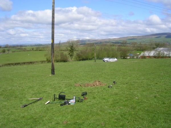 Crash site of North American Mustang Mk.III FX931, High Bentham, North Yorkshire