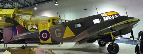 Airspeed Oxford at the Royal Air Force Museum, Hendon