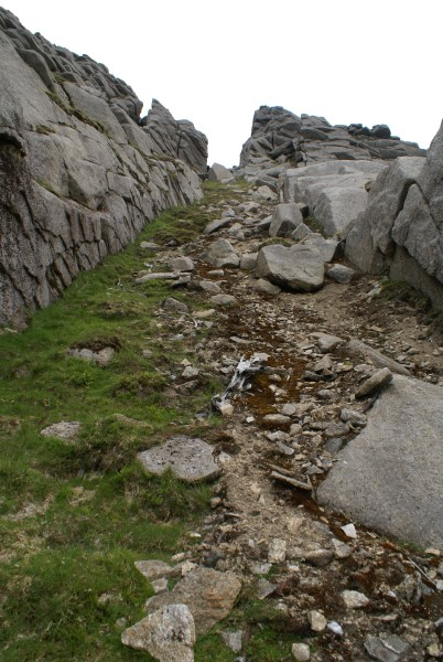 Crash site of Lockheed C-60A Lodestar 42-56014 on Beinn Nuis, Isle of Arran