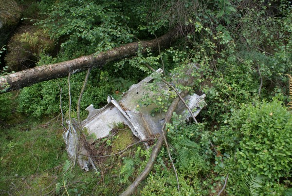 Wreckage from Short Stirling LJ628