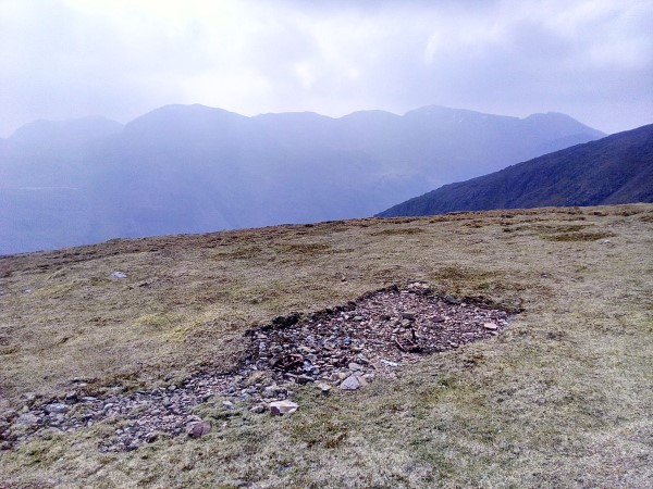 Crash site of Avro Anson Mk.I DJ222 on Green Gable, Cumbria