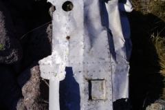Wreckage from Blenheim Z7356 on Braeriach