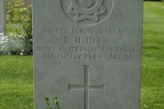 Grave of Flight Sergeant David Henry Ryan