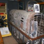 Rear fuselage of Armstrong Whitworth Whitley N1498 which crashed on Carn a Choire Mhoir, near Tomatin, at the Midland Air Museum, Coventry