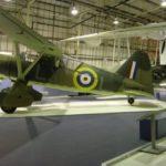 Westland Lysander at the Royal Air Force Museum