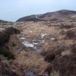 Crash site of Bristol Beaufort N1180 on Tor Mhor, Mull of Kintyre