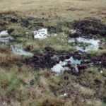 Crash site of Avro Lancaster Mk.III PB456 on Conic Hill near Loch Lomond