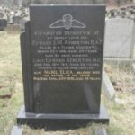 LAC Atherton's grave at Horwich Ridgmont Cemetery.