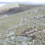 Crash site of Bristol Blenheim Mk.IV V6099 on Elidir Fawr, Llanberis