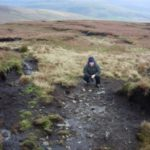 Crash site of Halifax W1146 on Great Shunner Fell, Keld, Yorkshire