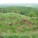 Crash site of North American Sabre XD733, Hood Hill, North Yorkshire