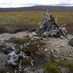 Crash site of Vickers Wellington Mk.III HF816 on An Lurg, Cairngorms
